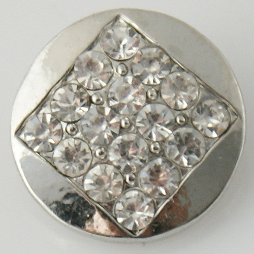 Snap Jewelry Rhinestone - Diamond Clear
