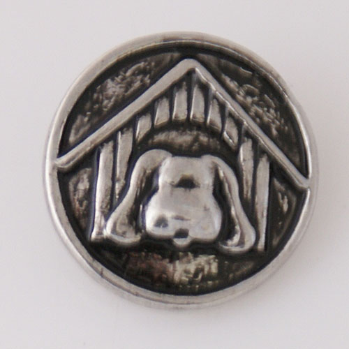 Snap Jewelry Metal- Dog House