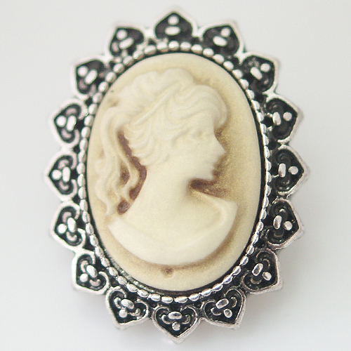 Snap Jewelry Stone - Victorian Cameo