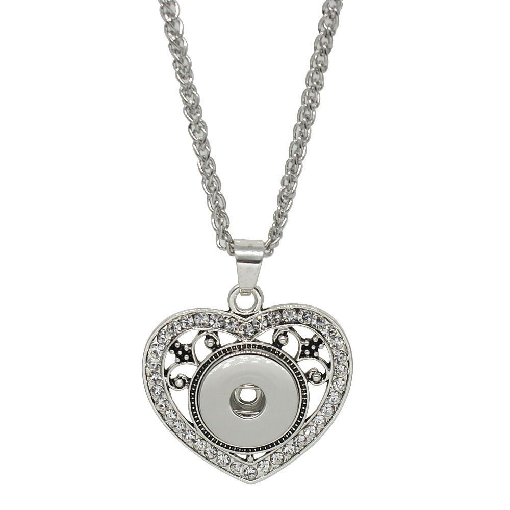 Snap Jewelry Necklace & Pendant - Designer Heart