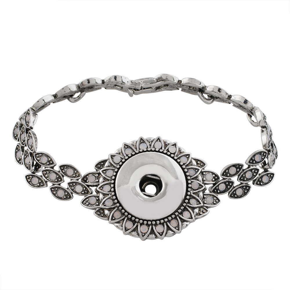 Snap Jewelry Bracelet Snap Lock - Antique Design