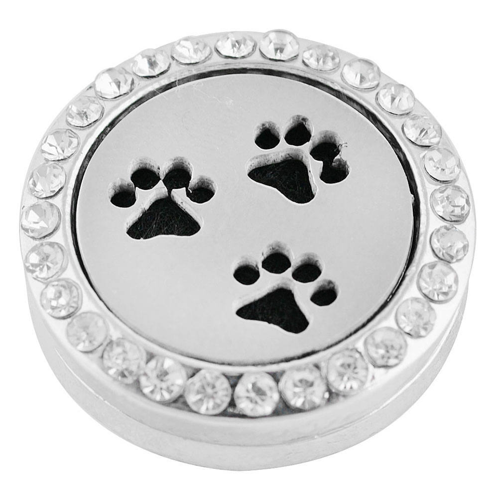 Snap Jewelry Aromatherapy/Essential Oil Diffuser - Paws