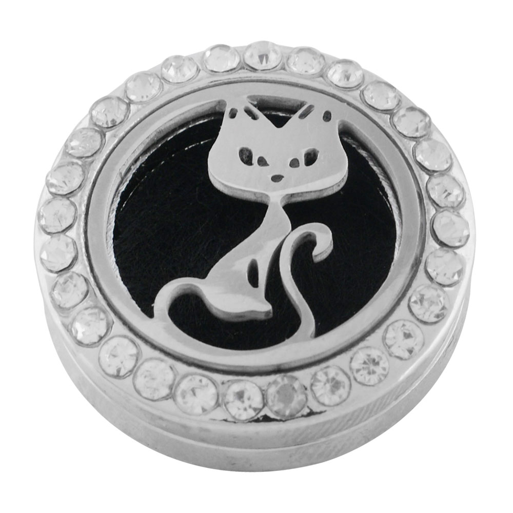 Snap Jewelry Aromatherapy/Essential Oil Diffuser - Cat