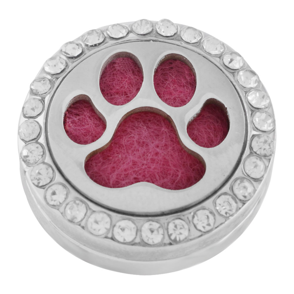 Snap Jewelry Aromatherapy/Essential Oil Diffuser - Large Paw
