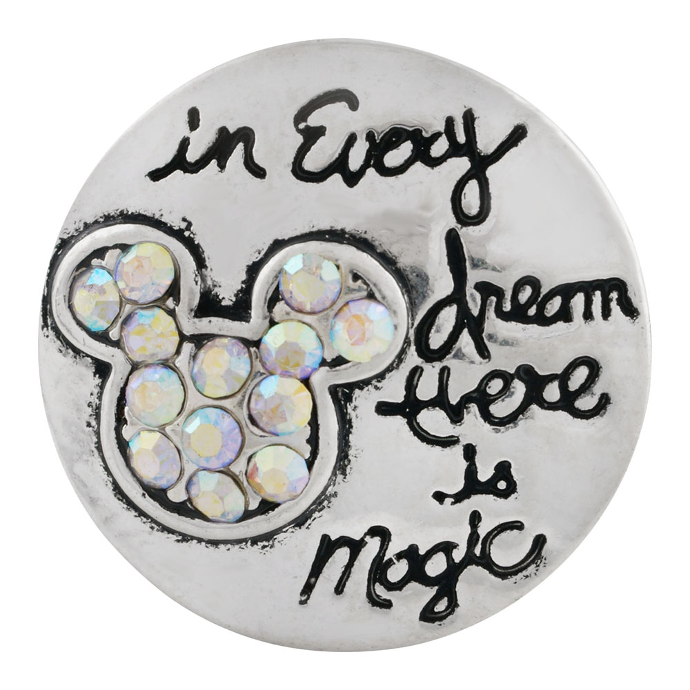 "Snap Jewelry Rhinestone -""In Every Dream There is Magic"" Script"