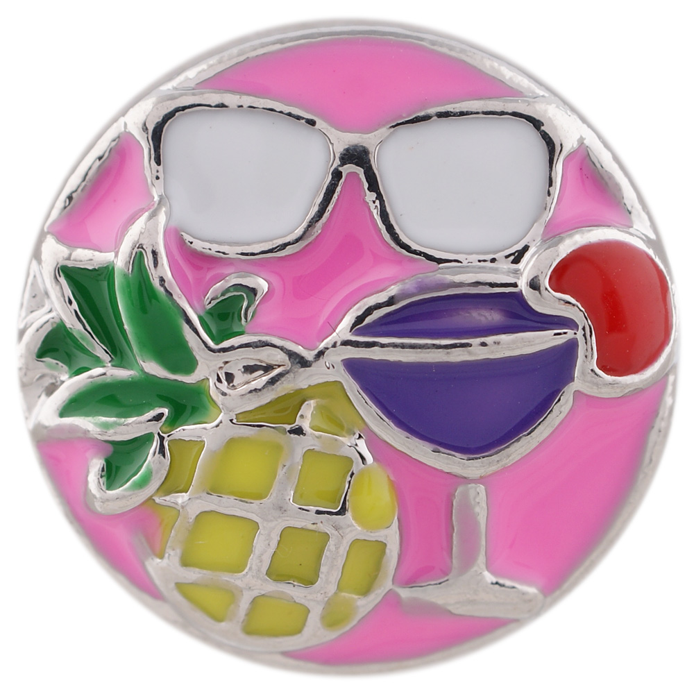 Snap Jewelry Enamel - Shades at 5:00 Somewhere Multicolor
