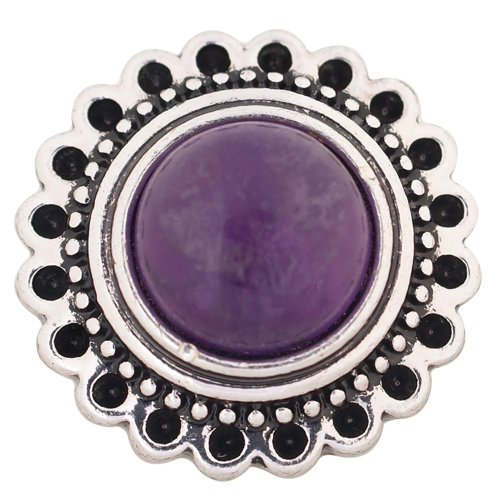 Snap Jewelry Stone - Purple