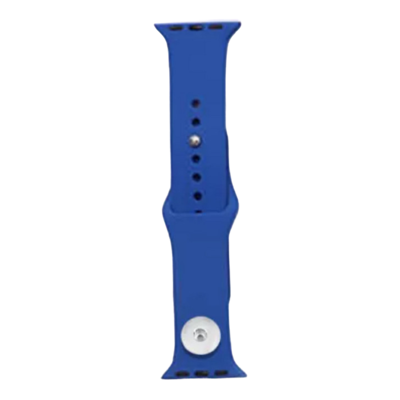 Snap Jewelry Royal Blue Silicone Wristband 38/40mm fits iWatch