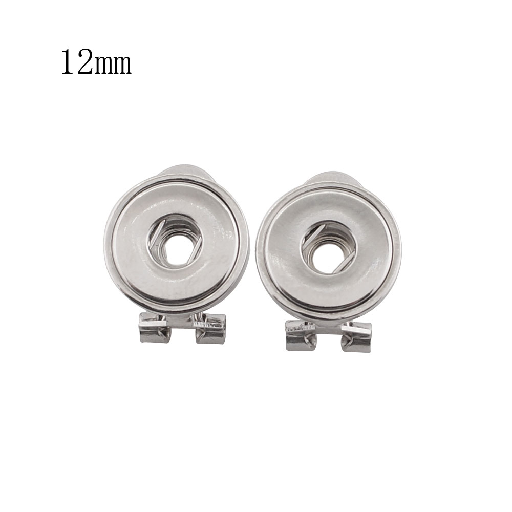 Mini Snap 12mm - Earrings Posts and Clip