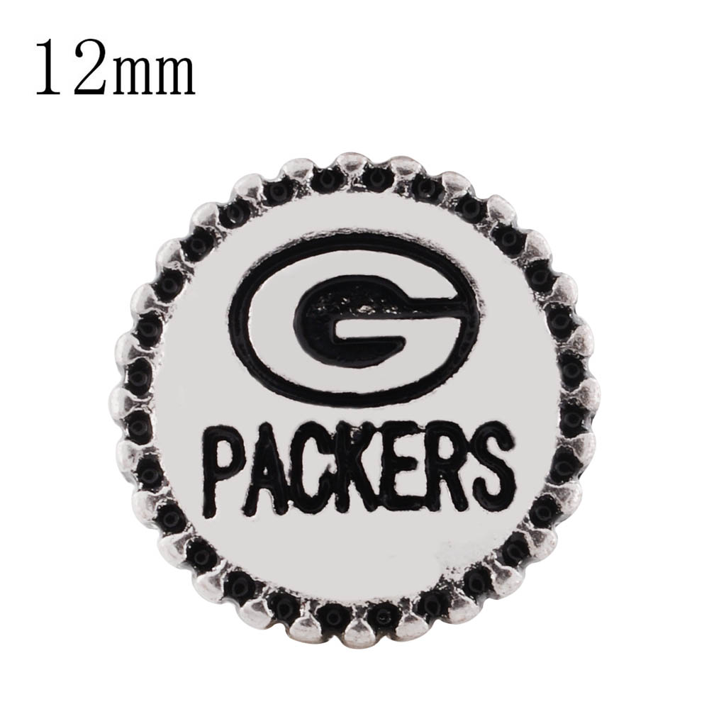 Mini 12mm Snap Metal -Sports Packers