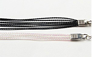 Six Strand Cord - White - Luminous Glow