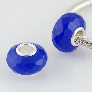 925 Crystal Beads - Capri Blue
