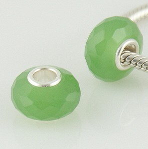 925 Crystal Beads - Light Green