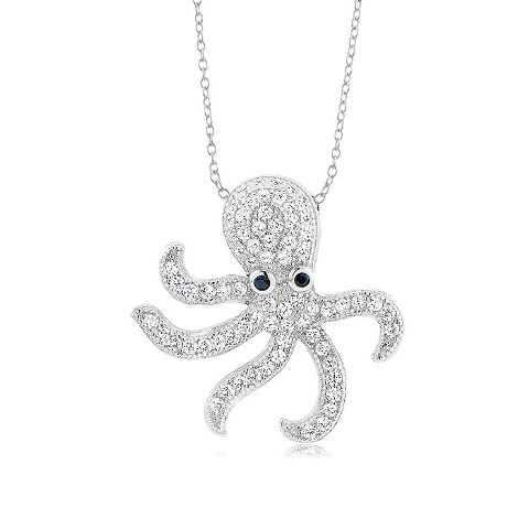 925 - Sterling - Octopus Pendant
