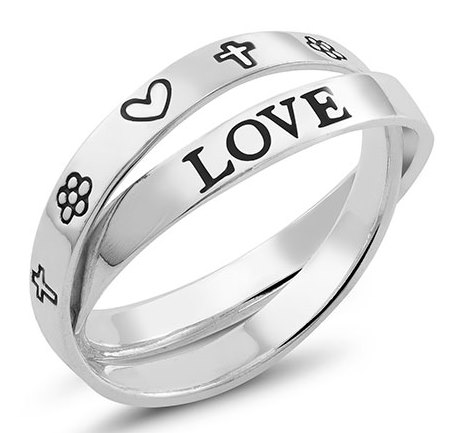 925 Sterling Inspirational Rings