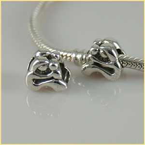 Charm 925 Silver - Mother and Child