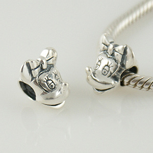 Charm 925 - Silver - Mouse Girl