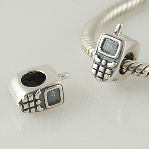 Charm 925 Silver - Cell Phone