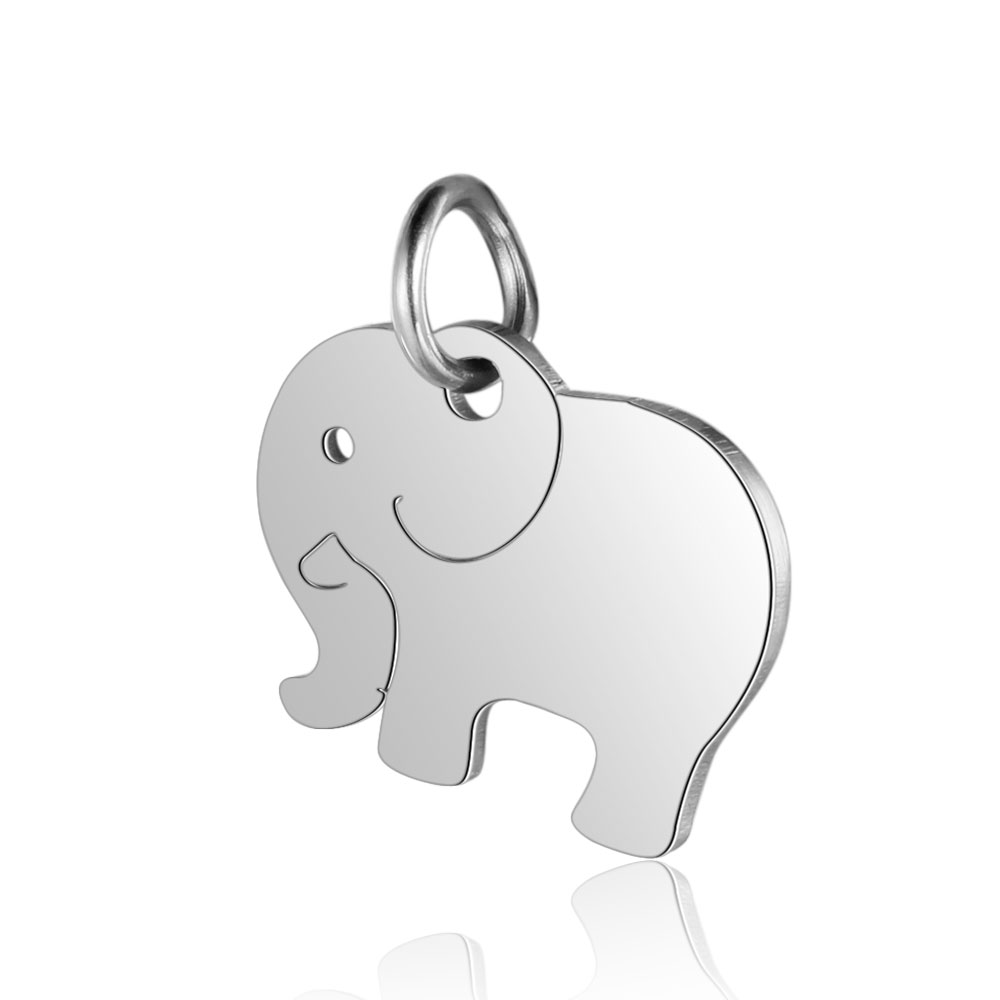 14*16mm Stainless Steel Elephant