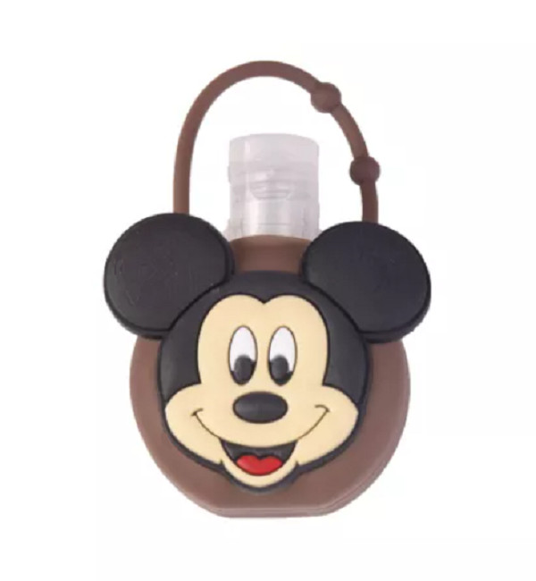 Silicone Bottle Holder 1oz Hand Sanitizer Mickey Mouse