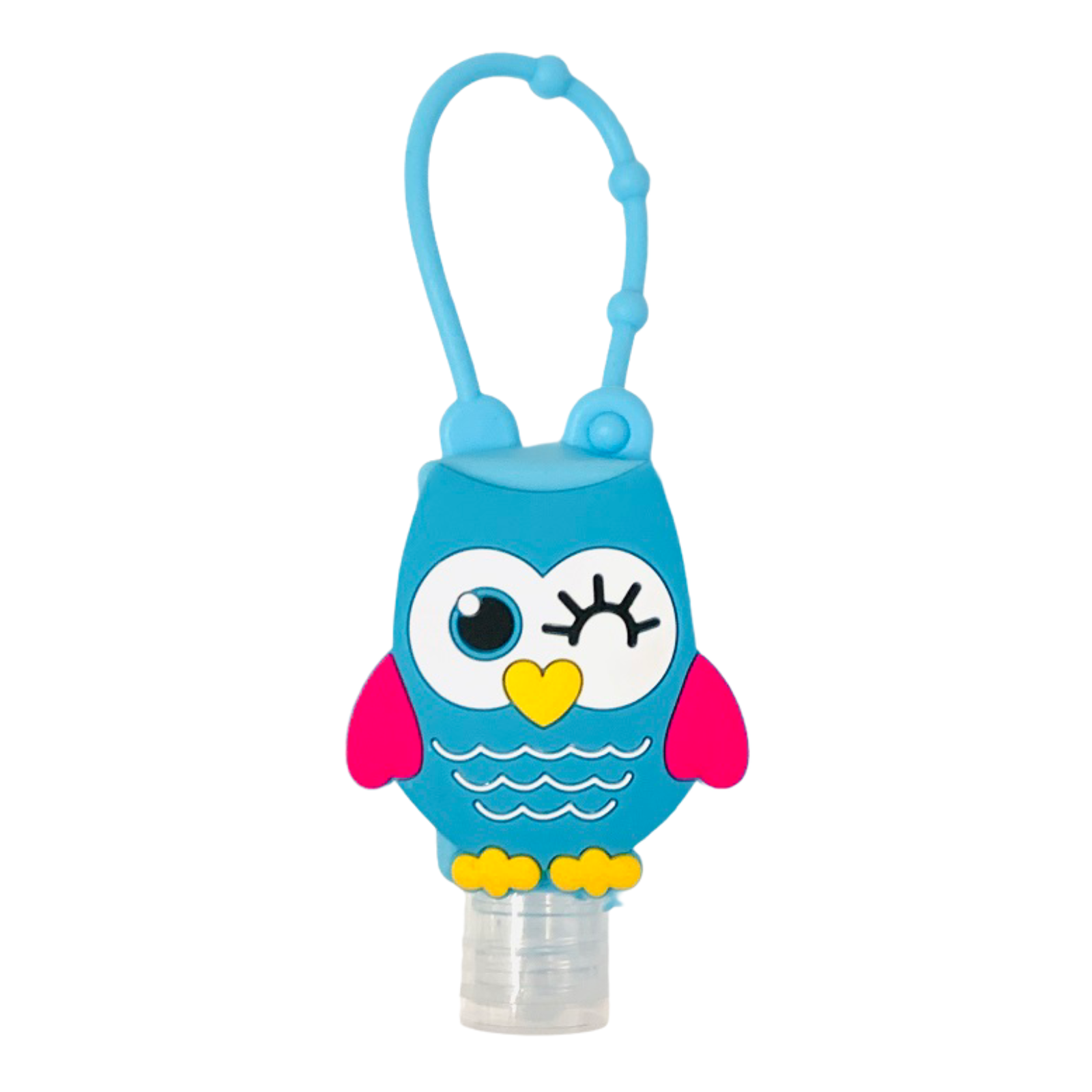 Silicone Bottle Holder for Mini 1oz Hand Sanitizer Owl