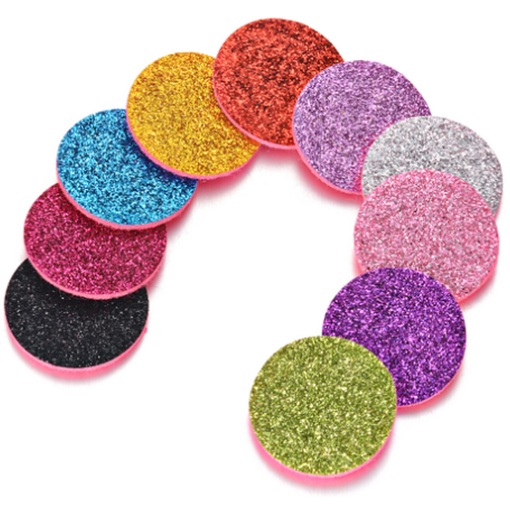 Essential Oil 5pk Glitter Diffuser Pads BRACELET SOLD SEPERATELY