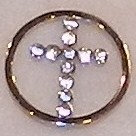Memory Locket Window Plates Cross