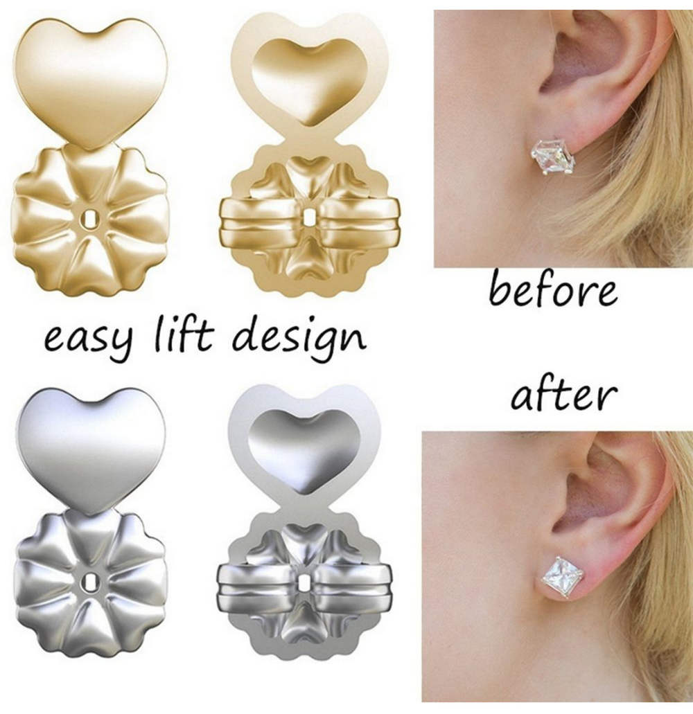 Earring Back Lifters Support