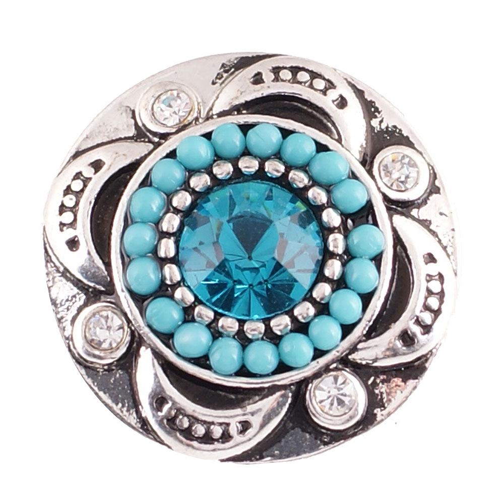 Snap Jewelry Stone - Designer Light Blue