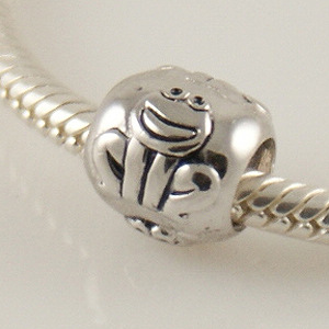 Charm 925 - Silver - Frog