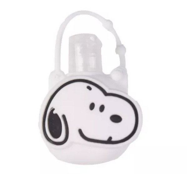 Silicone Bottle Holder for Mini 1oz Hand Sanitizer Snoopy