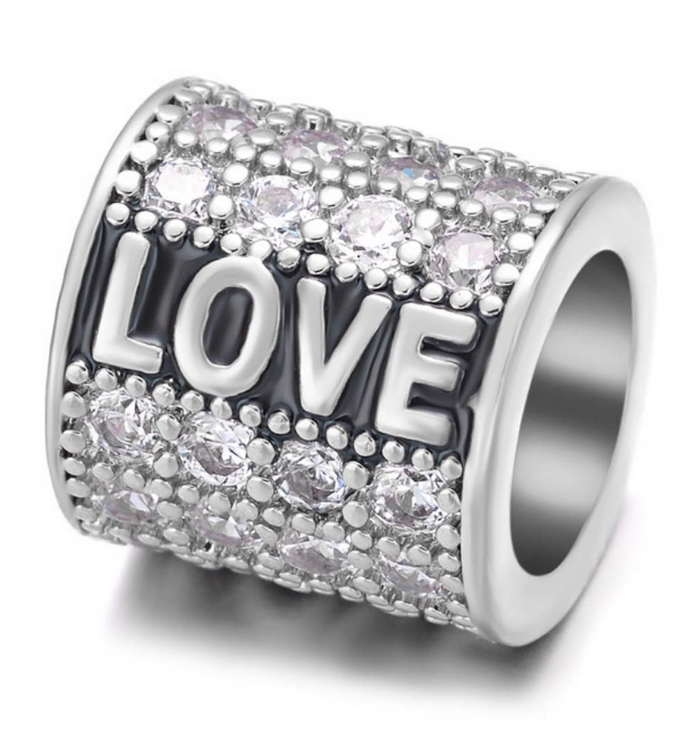 EndLess Charm CZ Barrel - Love